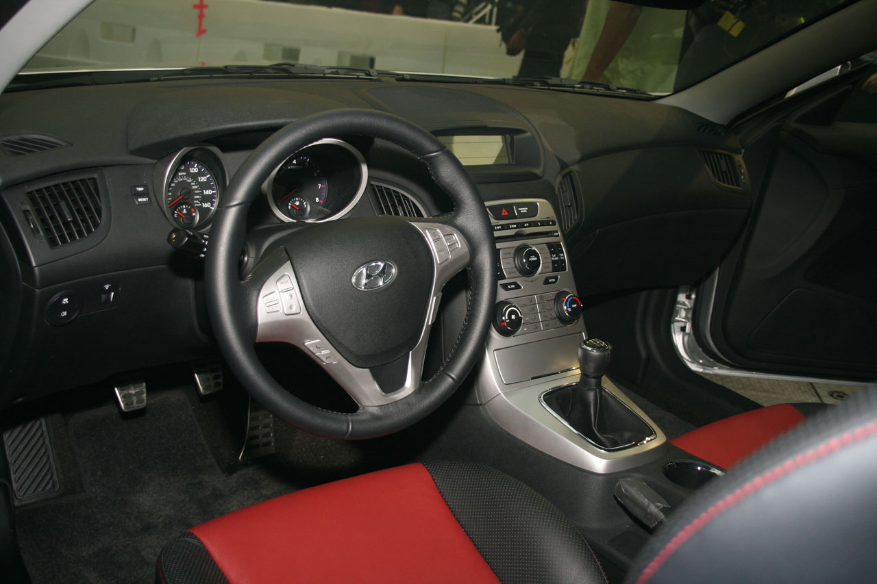 Hyundai Genesis Coupe Interior Images Galleries With A Bite