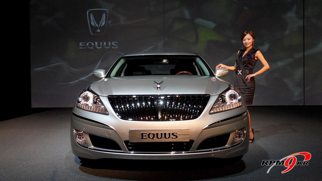 Hyundai Equus Coupe. Hyundai Equus sedan image