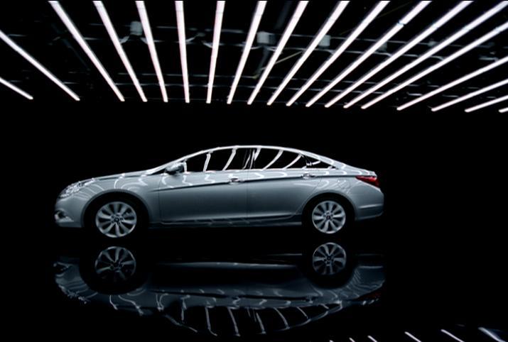 Новый Hyundai Sonata появится в 2010 году.