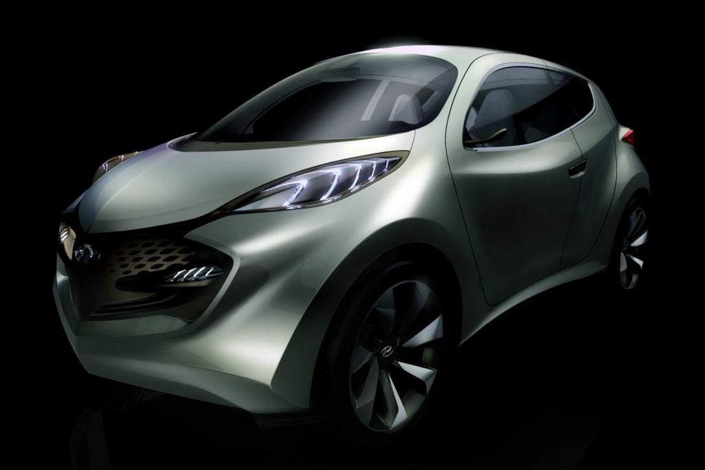 2009 Hyundai Ix Metro Concept. Hyundai ix-Metro concept car