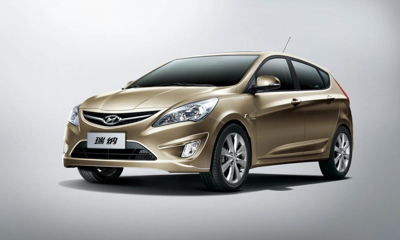 Share & 2011 Hyundai Verna five 5-door hatchback sale commences in China