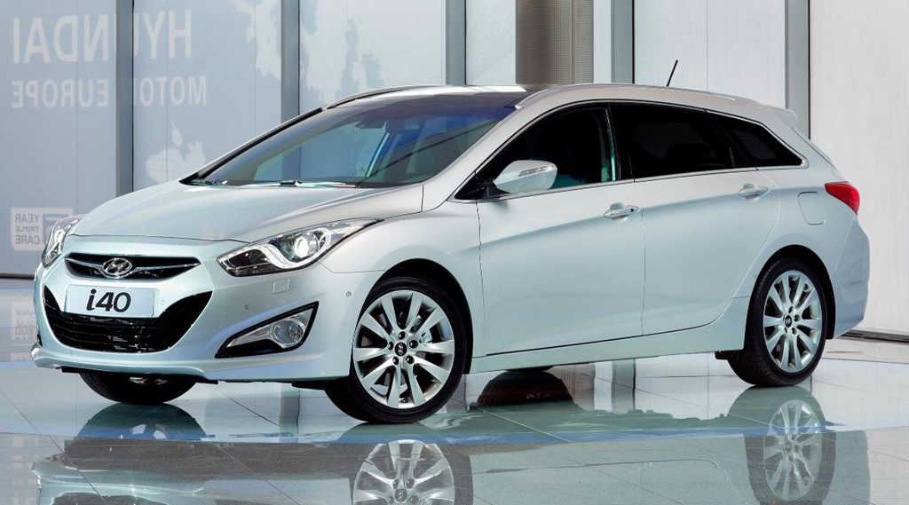 2011 Hyundai i40 (AKA Sonata) Tourer/wagon Unveiled