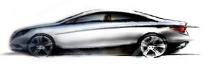 Hyundai Sonata Sketch