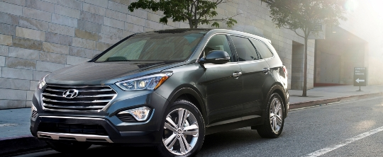 Santa fe 2013 Three Row Hyundai Santa Fe Has Six or Seven Seats