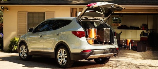 2013 hyundai santa fe sale Redesigned Hyundai Santa Fe Year Over Year Sales Soar 15%