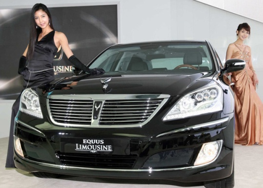 hyundai equus led Armored Hyundai Equus Limousine Available In The USA