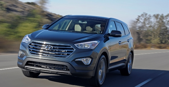 2013 santa fe price 2013 Hyundai Santa Fe GLS Priced at $28,350, Limited Costs $33,100