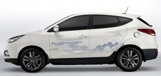 2015 fuel cell car USA: Hyundai Fuel Cell Vehicle Release Date Set For 2015