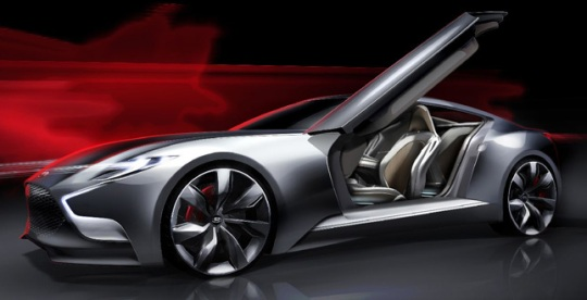 Hyundai HND 9 HND 9 Concept Car Image Rendering Released