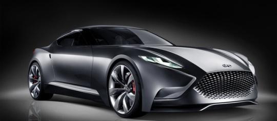 Hyundai HND-9 Concept Car Previews Redesigned Genesis Coupe