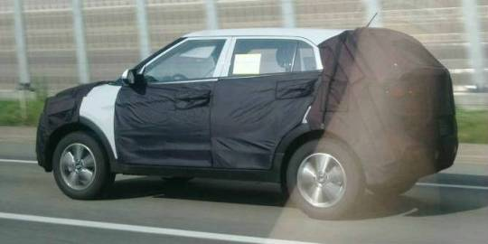 Hyundai Small Suv Spy Hyundai B Segment SUV Spy Shots Hit The Web