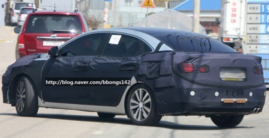 Hyundai Spy Shots