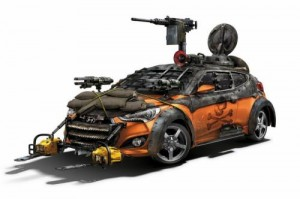 Veloster Sketch 300x199 Walking Dead Veloster Zombie Survival Car Launched