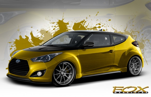 Heavily Modified Veloster Turbo Completes Hyundai S 2013