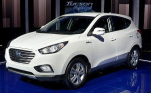 2015 Hyundai Fuel Cell Vehicle