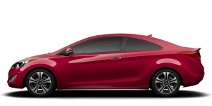 Elantra 2 door coupe 300x151 Elantra Coupe 2014 Model Year Changes, Improvements