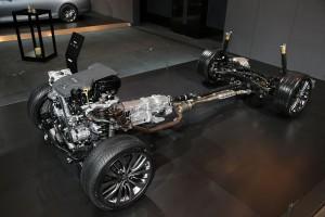 Hyundai Genesis HTRAC awd system