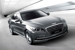 Korean-specs Hyundai Genesis Photo