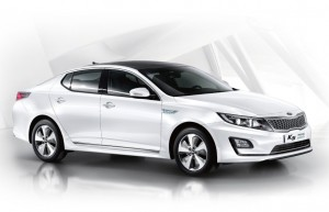 Kia K5 hybrid car image