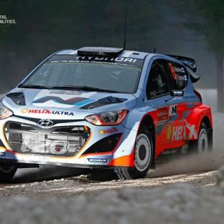 Hyundai WRC Team In SWEDEN