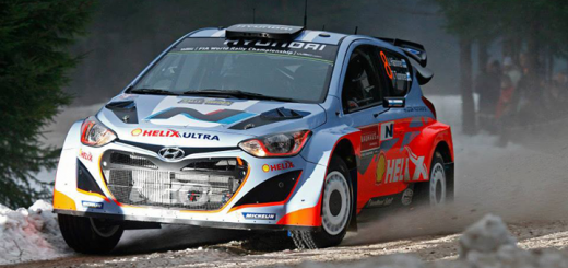 Hyundai WRC Team In SWEDEN