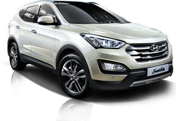 The Santa Fe SUV Receives Subtle Changes For 2014 Model Year in Korea