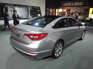 2015 Hyundai Sonata Gray