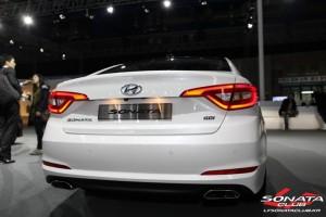 2015 Hyundai Sonata White