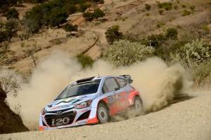 Hyundai WRC Mexico Rally 2014