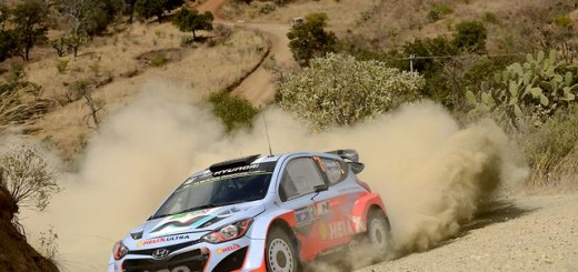 Hyundai WRC Mexico Rally 2014