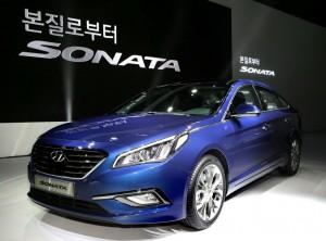 New Hyundai Sonata - Blue Color