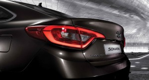 New Hyundai Sonata LED