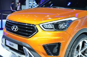 Hyundai ix25 signature grille