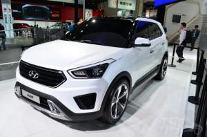 White Hyundai ix25