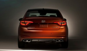 Hyundai Sonata Orange