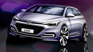 2015 Hyundai i20 Image rendering