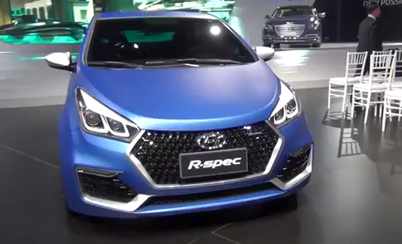 new car launches by hyundaiHyundai HB20 RSpec Concept Car Launched