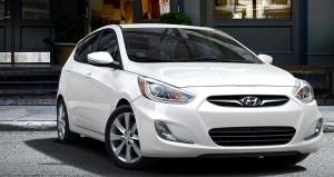 2015 Hyundai Accent White