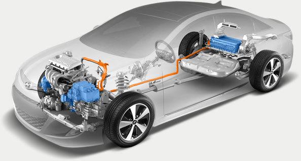 Hyundai E 4wd Hybrid System To Be Available In 2016 Tucson