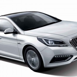 New Sonata Hybrid Car