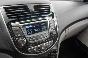 2015 Accent Dashboard