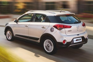 White Hyundai i20 Active