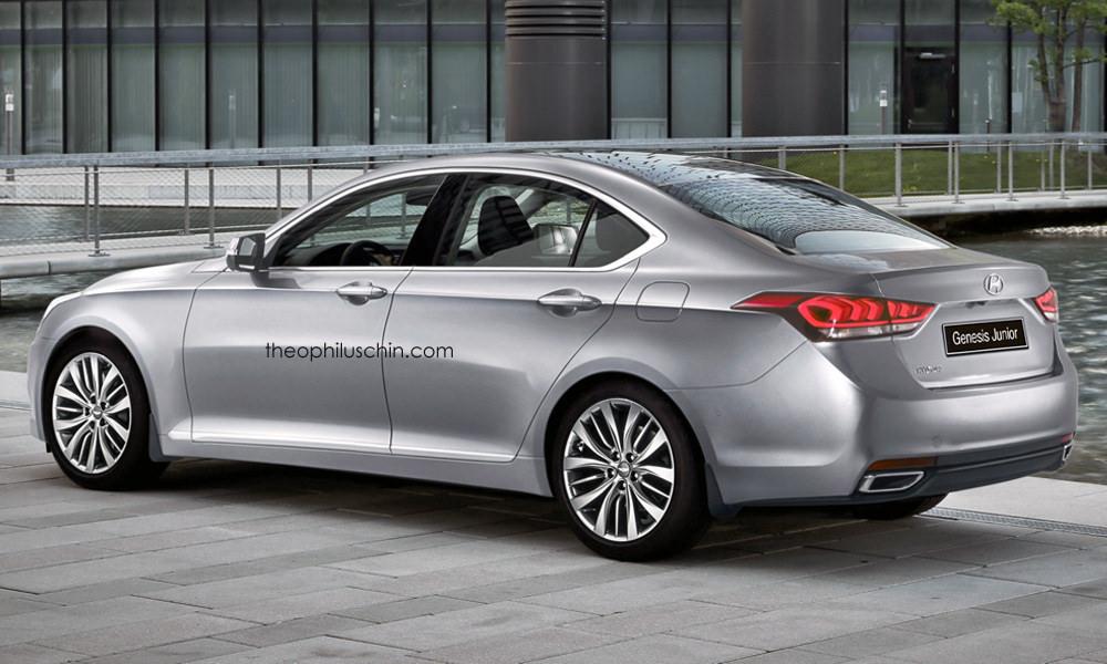 Hyundai S Upcoming Small Rwd Sedan Rendered