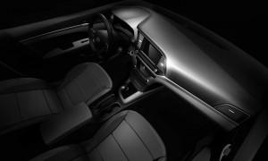2017 Hyundai Elantra inside