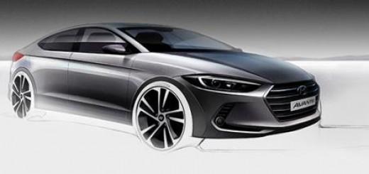 Hyundai Avante Sketch