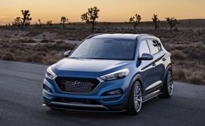 Sporty Hyundai Tucson concept car