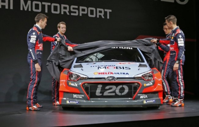 Hyundai WRC 2016