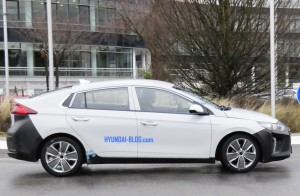 Ioniq Hybrid Car