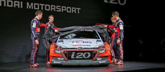 New i20 WRC 2016