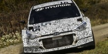 Hyundai i20 R5 rally car